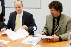 Rábai Dániel (HTA elnöke), Tokár Balázs (GRSP Hungary elnöke)