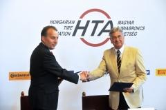Matej Zavrl (HTA elnöke) és Berényi János (HITA elnöke)