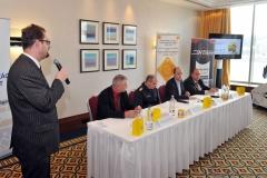 Pausz Ferenc (GRSP ügyvezető igazgató), Kiss Ferenc (OBB főtitkár), Rábai Dániel (HTA elnök),Morenth Péter (HTA ügyvezető elnök)